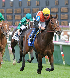 Banned Stands Out in Jefferson Cup