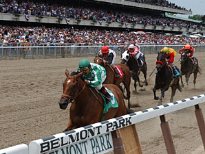 Apprentice Curatolo OK After Belmont Mishap