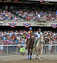 Attendance, Handle Numbers Solid at Belmont