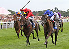 Blue Bunting Gets Hat Trick in Yorkshire Oaks