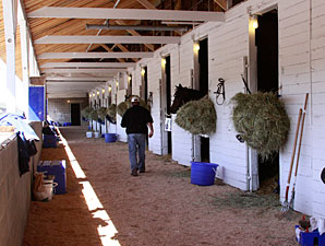 Restoration of CD Damaged Barns Completed