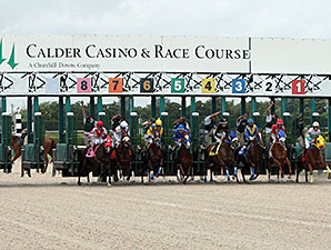Gulfstream, Calder Still on Collision Course