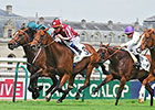 Charm Spirit Up Late to Win Prix Jean Prat