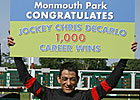 Jockey DeCarlo Rides 1,000th Winner