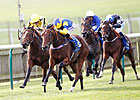 Chriselliam Flies to Fillies' Mile Upset