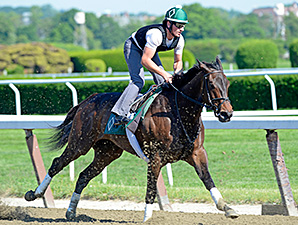 Close Hatches Bids for Perfection at Saratoga