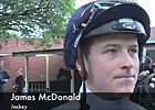 Cox Plate Preview: Jockey James McDonald