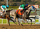 Creative Cause on Rail for Santa Anita Derby