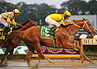 Curlin, New Approach Share Top Rankings