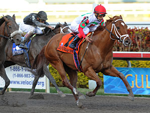 D' Funnybone Wins 3YO Debut in Hutcheson