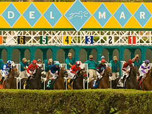 Del Mar Attendance, Handle Down Slightly