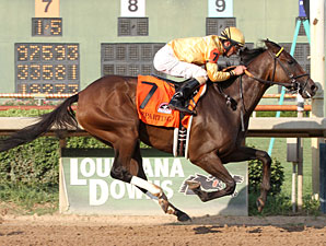 Departing Wins by Daylight in Super Derby