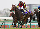 Duramente Storms Home in Japanese Guineas