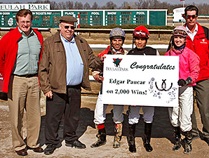 Paucar Notches Career Win 2,000 at Beulah