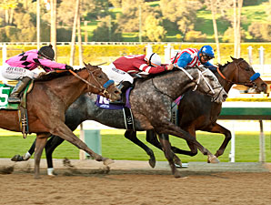Fed Biz, Tritap Clash Again in Strub Stakes