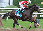 Fort Larned Fires First in Whitney Surprise