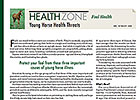 Health Zone: Young Horse Health Threats