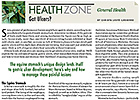 Health Zone: General Health: Got Ulcers?