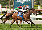 Hoop of Colour Claims Santa Ana Stakes