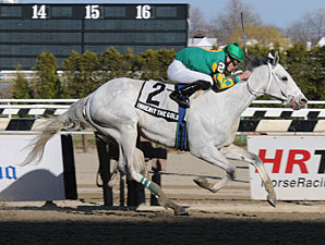 Inherit the Gold Dominates Excelsior Stakes