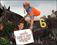Bailey Now Saratoga's All-Time Riding Leader