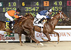 Kick On Prevails in Jean Lafitte Stakes