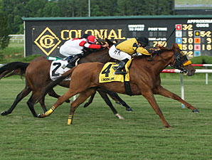London Lane Rolls to Colonial Turf Shocker