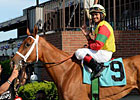 Jockey Luis Saez Bags Five Wins at Belmont