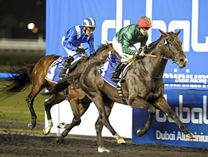 Mendip Shows Class in Maktoum Challenge Win