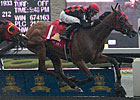 Midnight Aria Solos in Queen's Plate Surprise