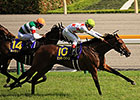 Mikki Queen Rules in Japanese Oaks