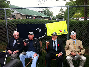Normandy Invasion Veterans Meet the Horse