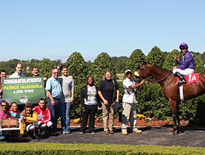 Valenzuela Wins 4,000th Race