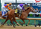 Princess of Sylmar Becomes Oaks Royalty