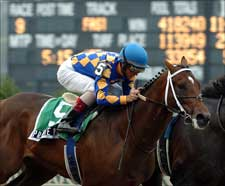 Private Vow Overwhelming in Belmont Futurity