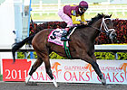 R Heat Lightning Brilliant in GP Oaks Victory