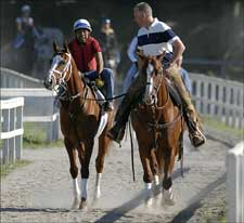 Rags to Riches Works at Saratoga; Next Start Undetermined