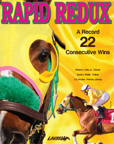 Maryland Jockey Club to Honor Rapid Redux