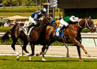 Regally Ready Hangs On for San Simeon Win