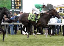 Remarkable News Wins Accident-Marred Dixie Stakes
