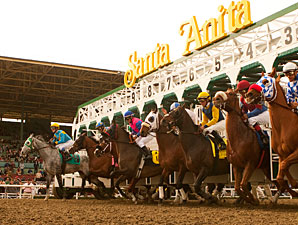 Santa Anita Plans to Adjust Track Composition