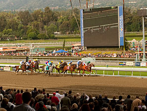 Santa Anita Track Project Nears Completion