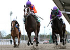 Summer Applause Wins Rachel Alexandra Stakes