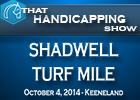 That Handicapping Show: Shadwell Turf Mile