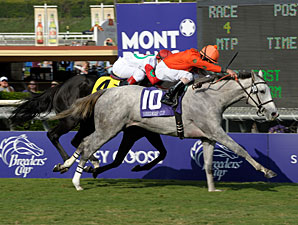 Tapitsfly Soars in the Juvenile Fillies Turf