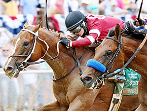 Tapiture Noses Out Candy Boy in WV Derby