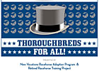Thoroughbreds for All! Event Set for April 28