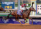 Untapable Makes Season Debut in Azeri Stakes