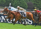 Tenacious Wavering Winner of Prix Saint-Alary