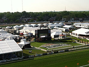 Weather No Issue for Preakness Stakes Card